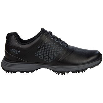 Stuburt Golf 2016 Helium Tour Event Herren Spikes Leder Golf shoes-waterproof, Schwarz - schwarz - Größe: 47 (Ereignis Schuhe Männer)