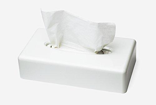 Tork 270023 dispenser veline per il viso, sistema f1, 6 cm x 25,5 cm x 14 cm (altez. x largh. x profon.), plastica resistente, colore bianco