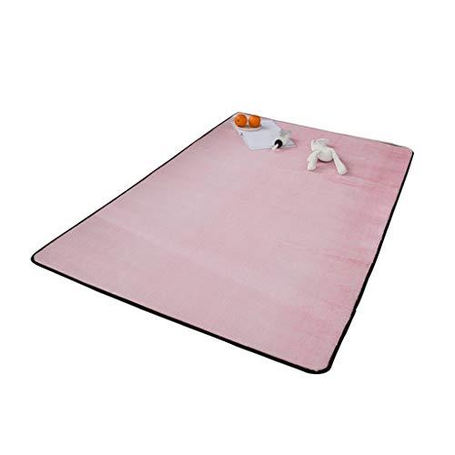 Teppiche Make-up Matte Handtuch Pad/Relax Mat Yoga Anzug Schlafzimmer Tatami Lounge Green Pad Pad Rosa Velvet Velvet Rabbit Maßband Faltbare Futter Anpassbare Pad