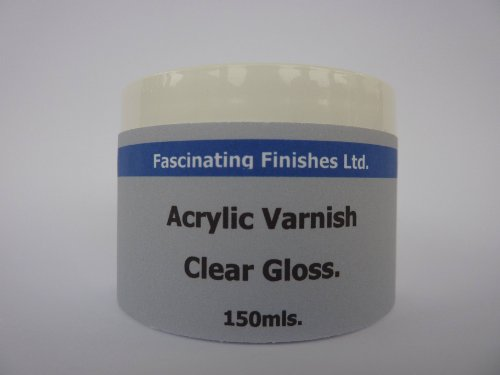 1-x-100ml-clear-gloss-acrylic-varnish-art-craft-hobby