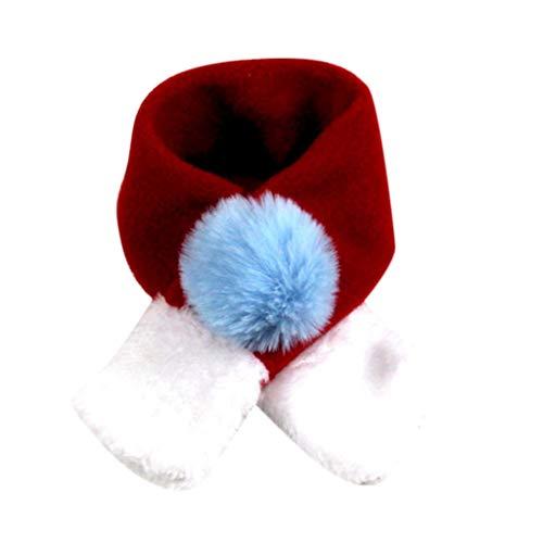 Amphia - Haustier-Schal,Winter Hundehalsband Schal Halstuch warm für -