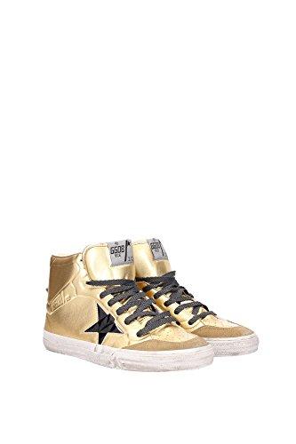 G26U599D4 Golden Goose Sneakers Uomo Pelle Oro Oro