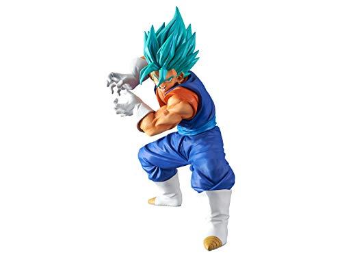 BANPRESTO 604724Scultures Dragon Ball Z, blau Vegito Final Kameha Action Figur, 16cm