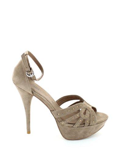 Nina Morena - Sandalo argento nina morena, calzature donna, taglia: 39, colore: argento