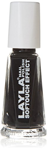 Layla Cosmetics Softtouch Effect Nagellack, noir touch, 1er pack (1 x 0.01 L)