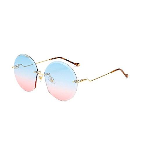 Aikesi Kreativ Rahmen ohne Rahmen schneiden Polarisierte Sonnenbrille Sportbrillen UV400 ReitbrilleOutdoor-Brille für Frauen und Männer 1 Stück B