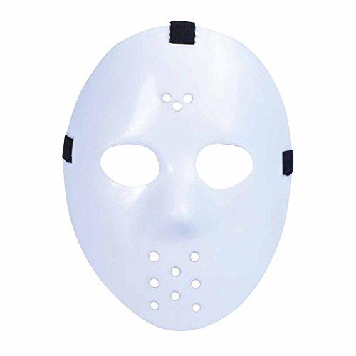 Hockey Mask. White costume Kids Fancy Dress (Hockey Maske Kostüm Ideen)