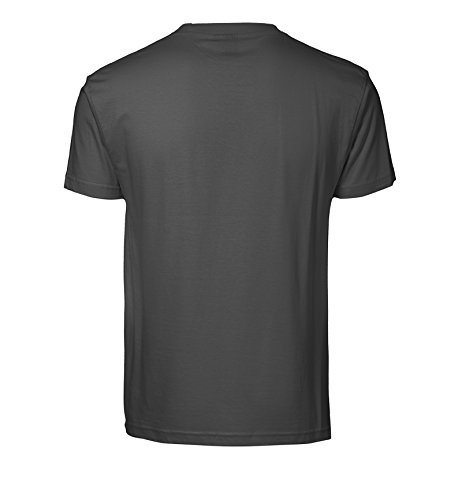 Bedrucktes Herren T-Shirt mit Motiv Neon Glow Skull Koks