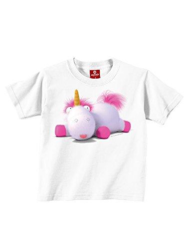 Minions Fluffy Unicorn Maglia bimbo/a bianco 164