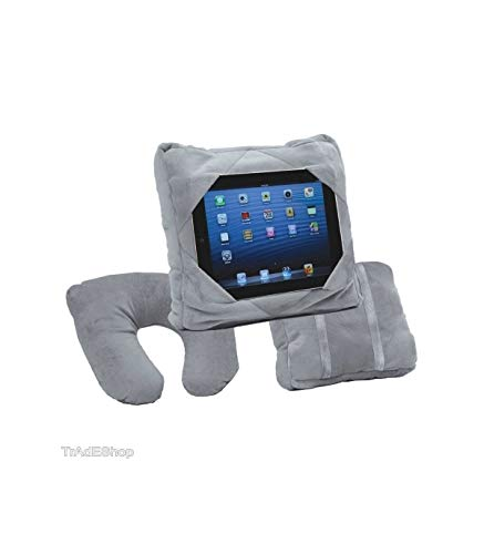 tradeshoptraesio®–Gogo Pillow 3in 1cojín Puerta Tablet Viaje reposacabezas coche ipad samsung