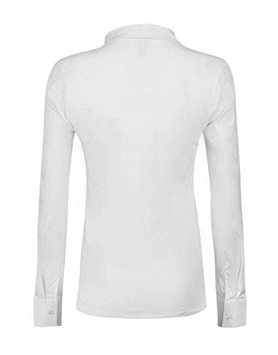 Love2Wait Blouse Elegante Umstandsbluse Bluse Tunika B999070 Weiß