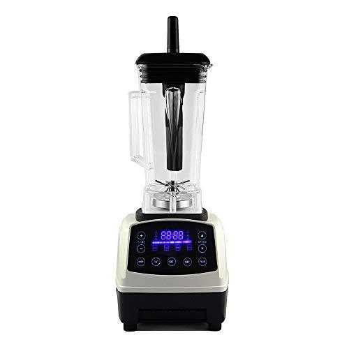 RUCHUFT Kleiner Mixer | Smoothie-Hersteller | Eisbrecher | Intelligenter Touchscreen | 2L Edelstahlkanne | Leistungsstarke 2200W | Mischung Obst Gemüse Kräuter Nüsse | Mix Protein Shakes, White -