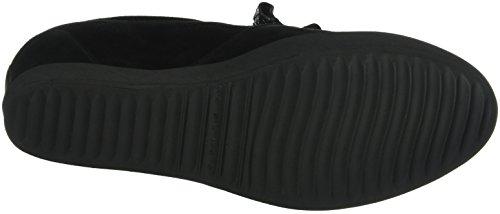 Kennel und Schmenger Schuhmanufaktur Liberty, Baskets compensées  femme Noir - Schwarz (schwarz Sohle schwarz 470)