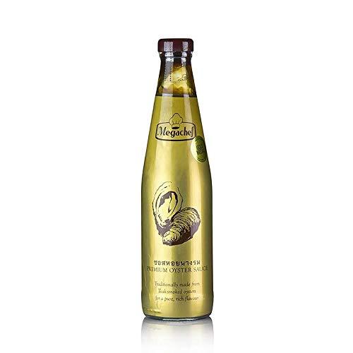 Megachef 600g PREMIUM OYSTER SAUCE [ glutenfrei ] – Austernsauce – 45% Auster
