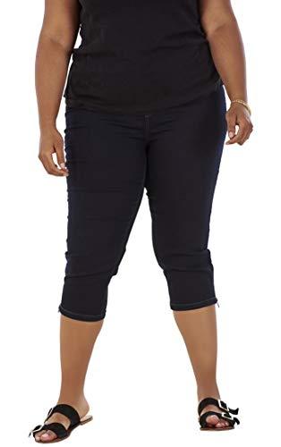 DC Jeans Pantalones Vaqueros Pirata Mujer - Bolsillos