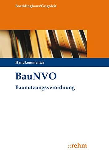 BauNVO - Baunutzungsverordnung: Handkommentar