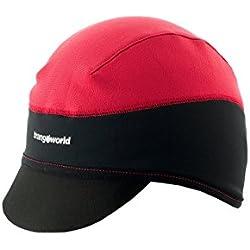Trangoworld Alka Gorra, Hombre, Rojo / Negro, M