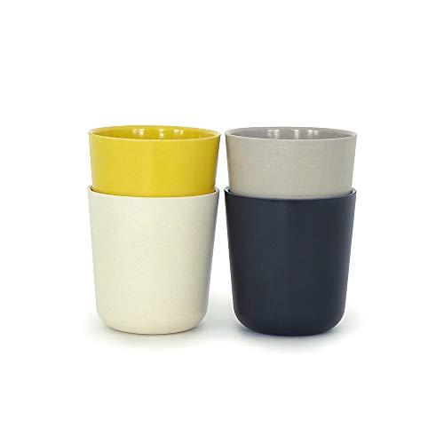 BIOBU Gusto by eKOBO 34680 mittelgr. 1 Set (Noir/Gris/Blanc/Jaune Citron