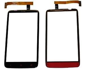 HTC One X PLUS Touch Screen Touchscreen Display Front Glas Scheibe Original Neu black
