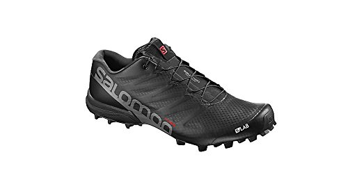 Salomon S/Lab Speed 2, Zapatillas de Trail Running Unisex Adulto, Negro (Black/Racing...