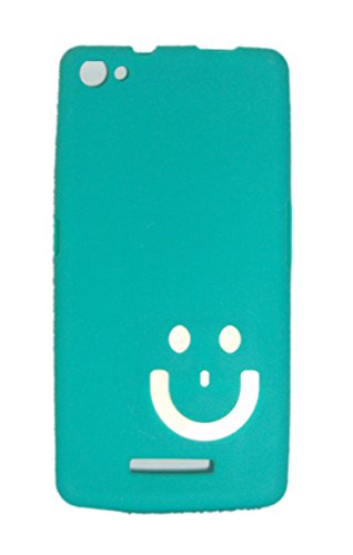 ECellStreet MicroMax A315 Smiley Soft Back case Cover Back Cover Imported Smiley White In Green  available at amazon for Rs.149