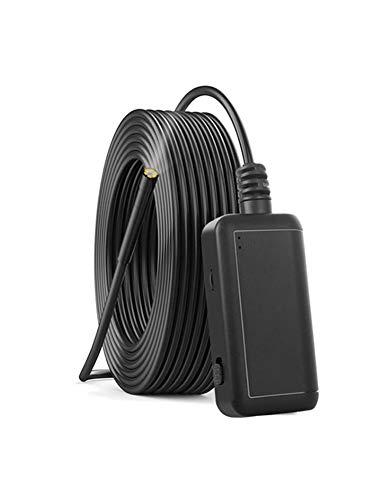 Ardentity WiFi Endoskopkamera Endoskop Handy Inspektionskamera, 5.0 Megapixel IP67 Wasserdichtes mit 6 LED Licht für Android, IOS, Windows