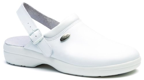 Toffeln Flexible Lite 0599 flexlite antistatique sabots infirmiers chaussures Blanc