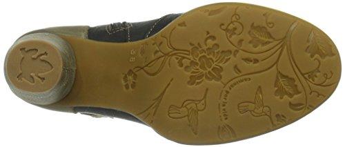 Stiefel N472 BLACK Schwarz El LAND COLIBRI COLIBRI Kurzschaft Damen Naturalista wpOw6qC5X