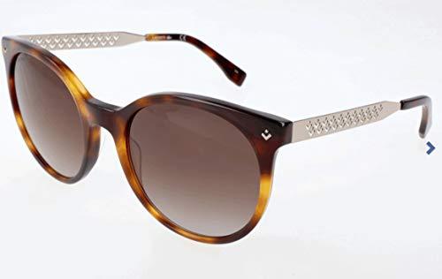 Lacoste Damen L834S Sonnenbrille, Braun, 57