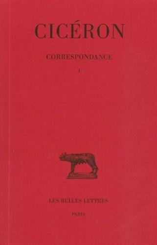 Correspondance, tome 1