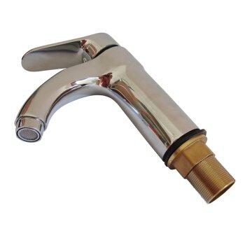 Messing Single Loch warmen und kalten Wasserhahn Waschbecken Wasserhahn Waschbecken