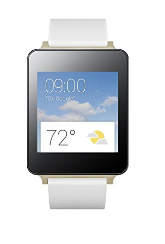 "LG G Watch - Smartwatch (pantalla 1.65"", 4 GB, 1.2 GHz, 512 MB RAM, Android), blanco"