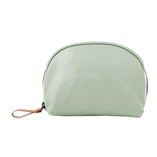 CAheadY Tragbare Solid Color Nylon Frauen Kosmetiktasche Muschel Reise Aufbewahrungstasche Tasche Grey - Nyx Make-up Tasche