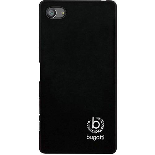 Bugatti FlipCase Rome - exklusive Echtleder-Tasche für Apple iPhone 6 / 6S  [Handarbeit   Magnetverschluss   Logoprägung] schwarz - Cover