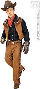 WIDMANN Costume Cowboy o Indiano Bambino, Marrone, 158 cm (11-13 anni) 42778