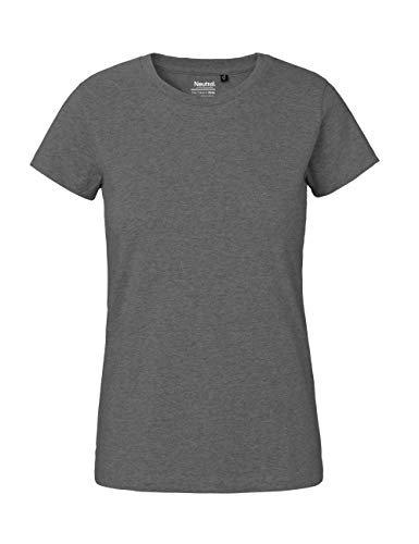assic T-Shirt, 100% Bio-Baumwolle. Fairtrade, Oeko-Tex und Ecolabel Zertifiziert, Textilfarbe: dunkelgrau, Gr.: M ()