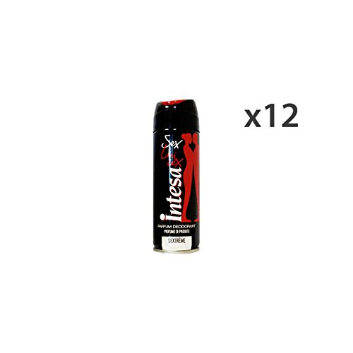 INTESA Set 12 Deodorante Spray Unisex Sextreme 125 Ml. Cura Del Corpo