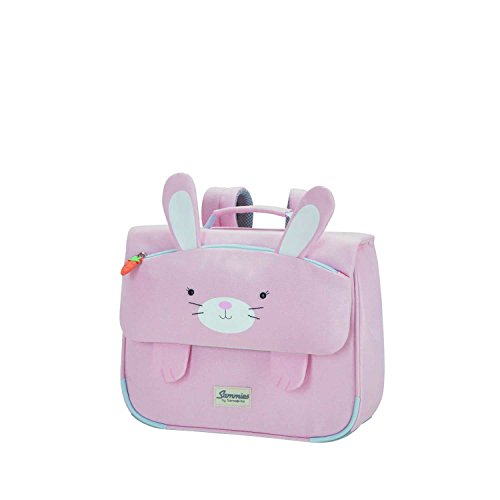 Samsonite Happy Sammies - Cartable S, 32 cm, 8 L, Rose (Rabbit Rosie)