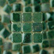 Unbekannt 229302810x 10x 3mm 70g 150-tlg. Mosaik Fliesen aus glasierter Keramik, grün