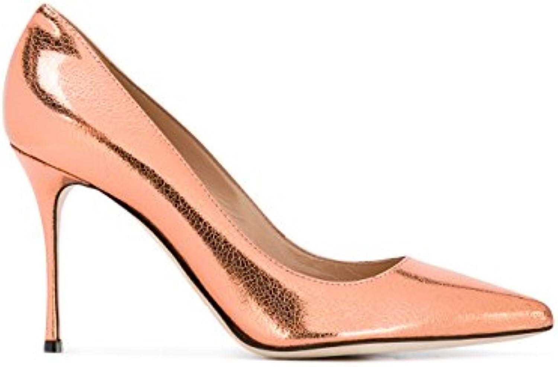 Sergio Rossi Femme A43843MCAL066823 A43843MCAL066823 Femme Bronze Cuir EscarpinsB0799LPRZQParent 184c8b