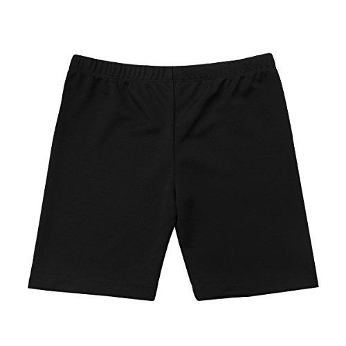 YiZYiF Big Girls' Summer Cotton Bike Shorts for Sports, Gym,School Uniforms Under Dresses Pants