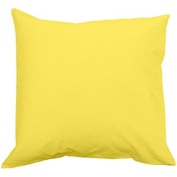 Pillow Case, 63 x 63 cm, Solid, White
