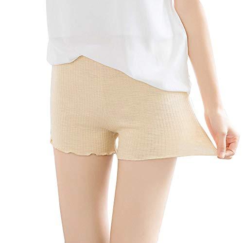 SuperSU Frauen Leggings Hosen beiläufige heiße dehnbare Unterwäsche Shorts nahtlose Sicherheit Kurze Yogahose Sporthose Running Shorts Tights für Fitness Sicherheitshosen -