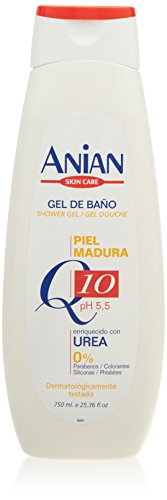 Anian Bagnoschiuma, Q10 Piel Madura, 750 ml