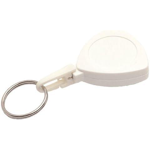 Yoyo Mini Triangolo con portachiavi e clip per cintura, Bianco