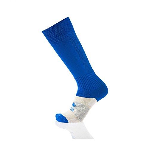 TRANSPIR Stutzensocken · UNISEX Stutzen für Erwachsene & Jugendliche · ERREÀ Fußball Hockey Volleyball Running etc. · WETTKAMPF Sportsocken in Gr. 42-50 Farbe blau, Größe ONESIZE (Jugend-fußball-socken-jungen)