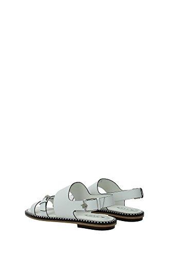 XXW0YL0P420BR0B001 Tod's Sandale Femme Cuir Blanc Blanc