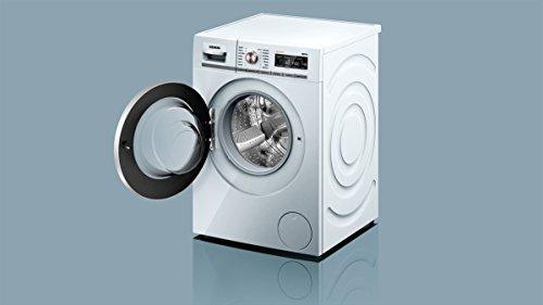 Siemens iQ700 WM14W5FCB Waschmaschine / 9,00 kg / A+++ / 152 kWh / 1.400 U/min / FC Bayern Meisterwascher / Nachlegefunktion / aquaStop mit lebenslanger Garantie / - 7