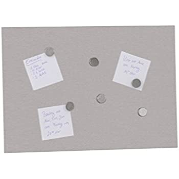 top star silver stainless steel magnetic memory board magnetic wall including 6 magnets. Black Bedroom Furniture Sets. Home Design Ideas