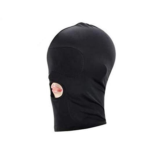 (Mondeer 1 STÜCK Sexy Spielzeug Spaß Maske Bundle Bundle Kopfbedeckungen Erwachsene Produkte Training Strafe Herzen Unisex (2))